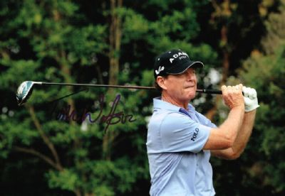 Tom Watson Autograph Photo - Golf